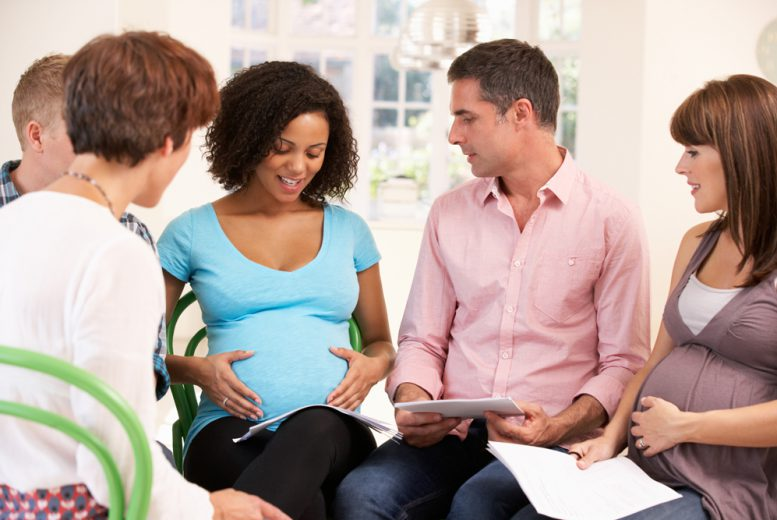Cours de préparation à l'accouchement classique